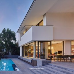 Crown House, Frankfurt - Moderne Villa von Alexander Brenner Architekten - Contemporary luxury residence
