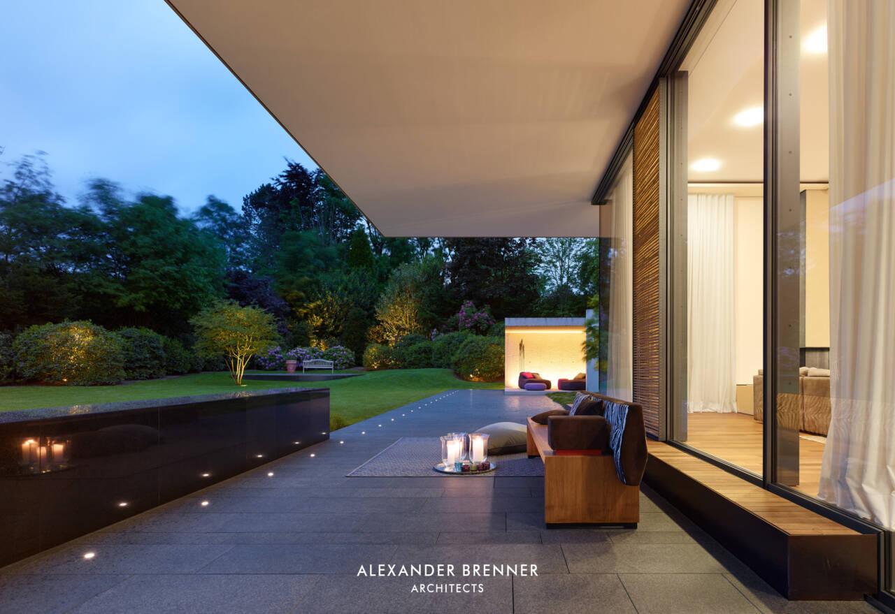 Architekten Essen bredeney house brenner architects