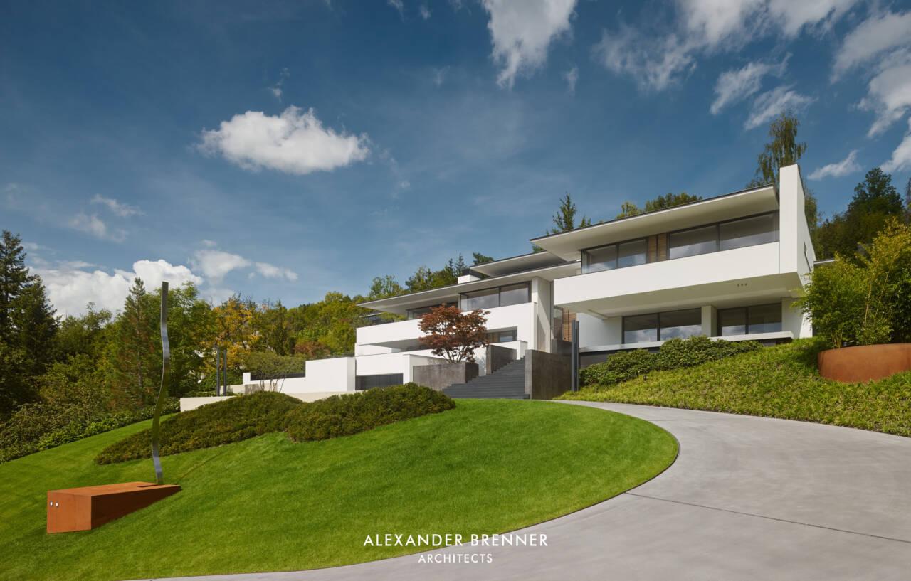 Architekt Reutlingen house an der achalm brenner architects