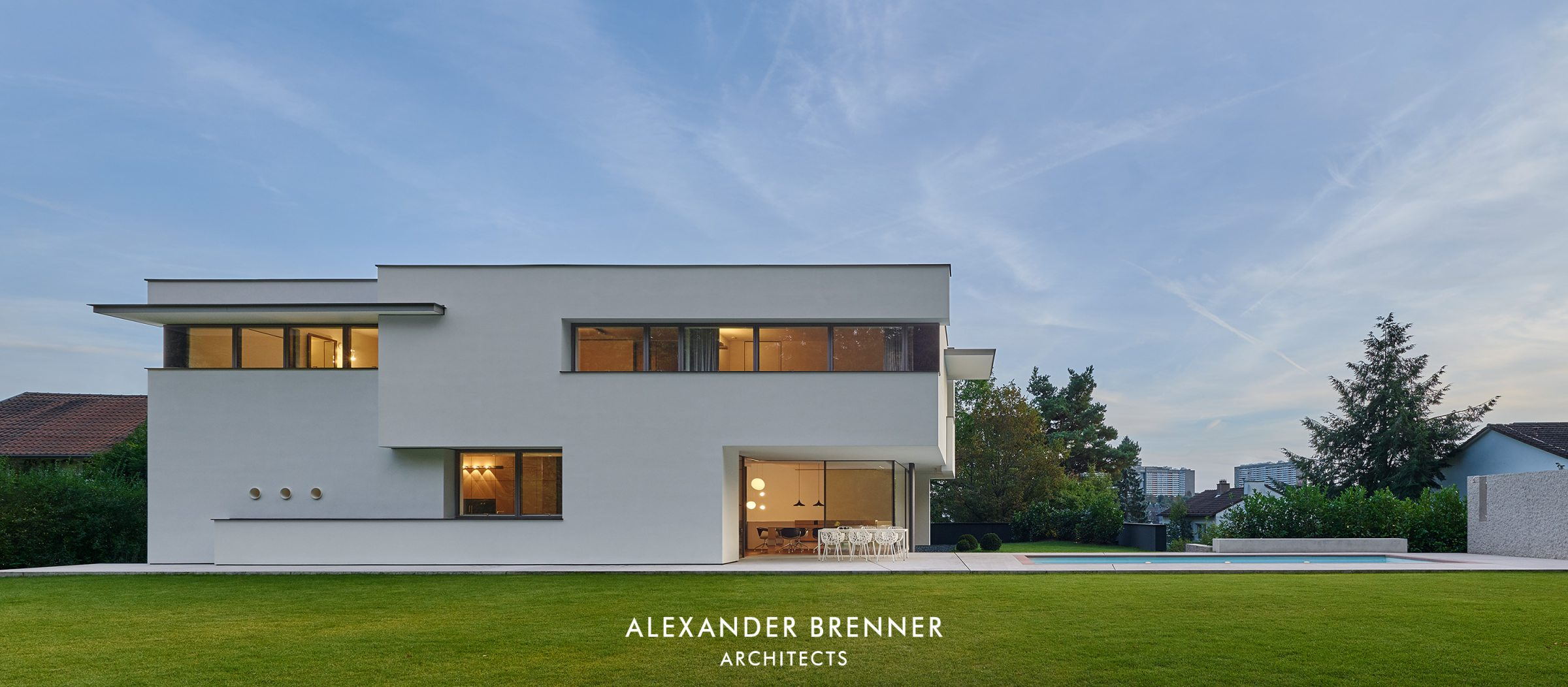 Haus Am Wald Alexander Brenner Architects Villas And Houses